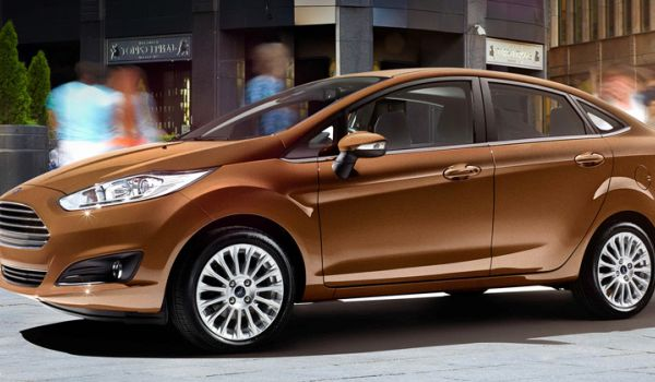 Ford Fiesta NEW седан